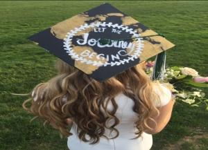 Bougdanos graduation cap